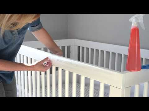 Mama Knows Best Invisible Crib Guard Instructional Video