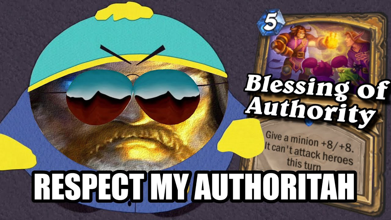 Respect Pure Paladin's Authoritah!! | Scholomance Academy | Hearthstone