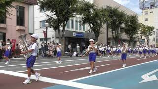 会津まつり2018 鼓笛隊パレード  河東学園小学校 00050