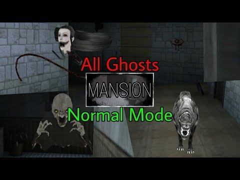 Eyes - The Horror Game - All Ghosts Mansion Normal Mode