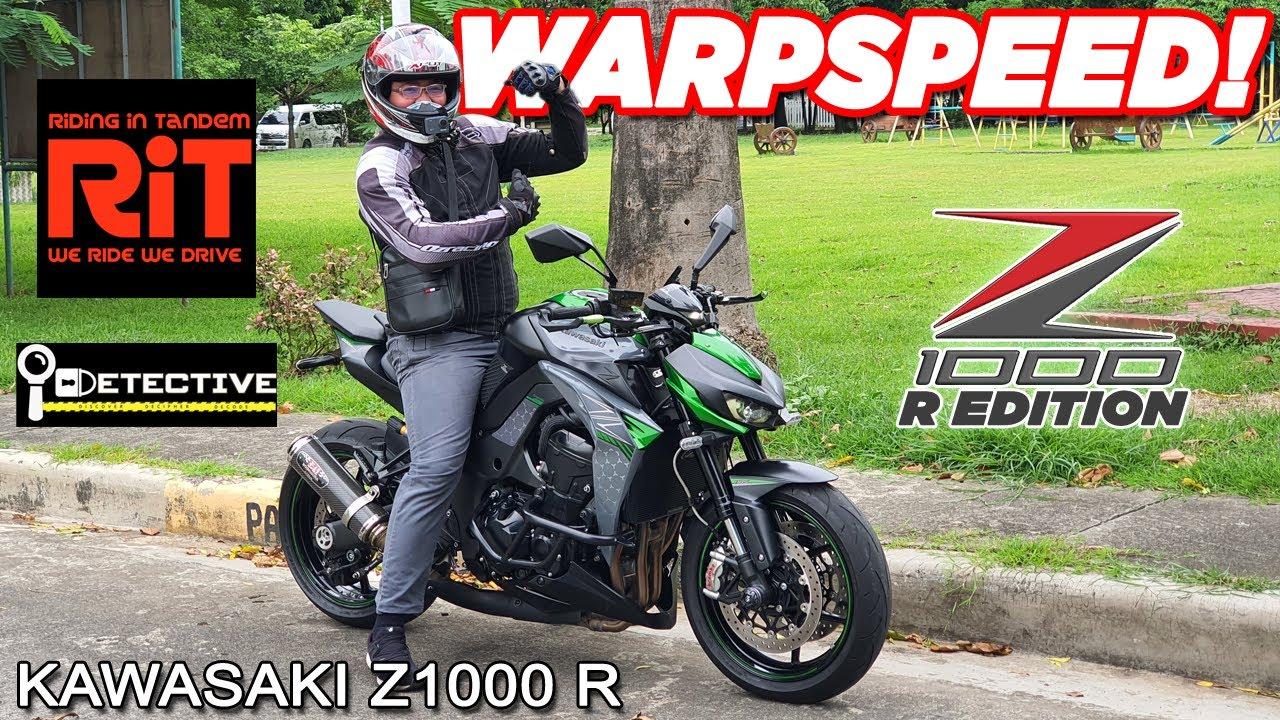 Kawasaki Z1000 R Beginner Test Drive! : 400cc vs 1000cc