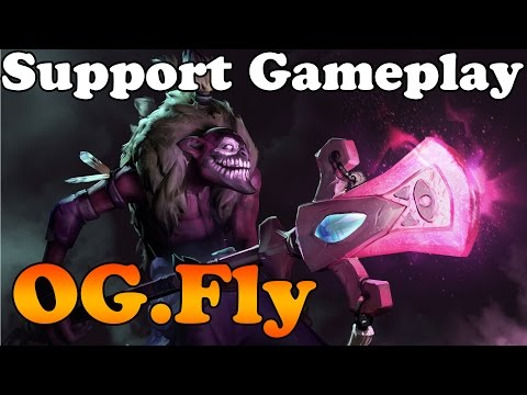 Dota 2 - OG.Fly Support perspective - OG vs VP - FrankFurt Major