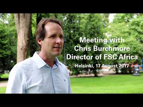 Meeting with Chris Burchmore, Director of FSC Africa