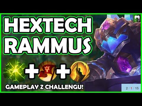 HEXTECH RAMMUS W JUNGLI DOMINUJE SOLOQ ! SPRAWDŹ JAK! - #1 EX RAMMUS WORLD - League of Legends