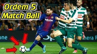 #1 Match Ball in the World -  Nike Ordem 5 Review (Premier League, La Liga and Serie A)