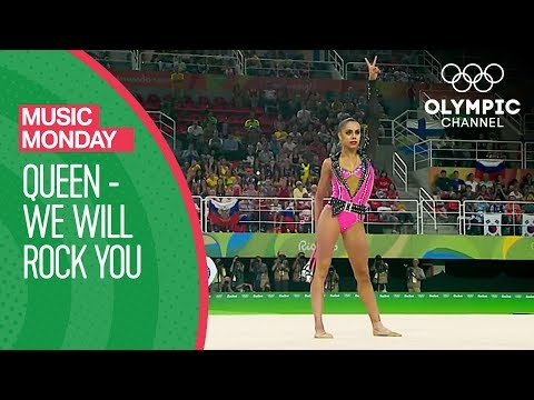 Margarita Mamun - We Will Rock You - Queen @Rio 2016 | Music Monday