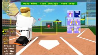 Roblox Baseball (This Was A Sad Game)
