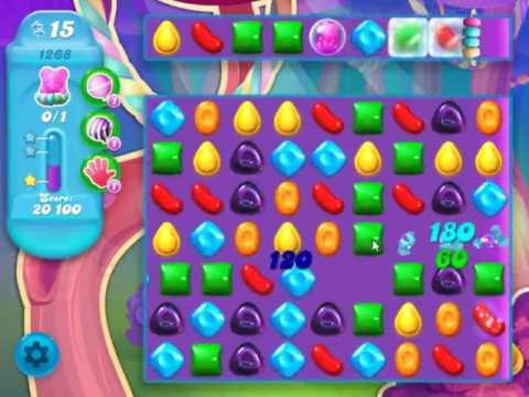 Candy Crush Soda Saga Level 1268 - NO BOOSTERS