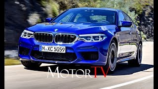 ALL NEW 2018 BMW M5 (F90) 4.4 V8 Bi-turbo 600 HP L DRIVING SCENES (SOUND!)