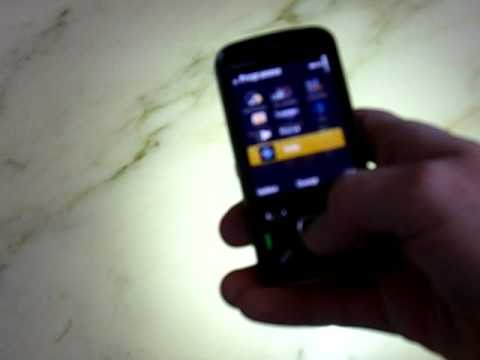 PhoneTorch LED+Screen Flashlight for Nokia N86 Demo