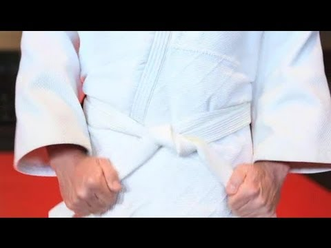 How to Wear a Judo Uniform : Martial Arts & More