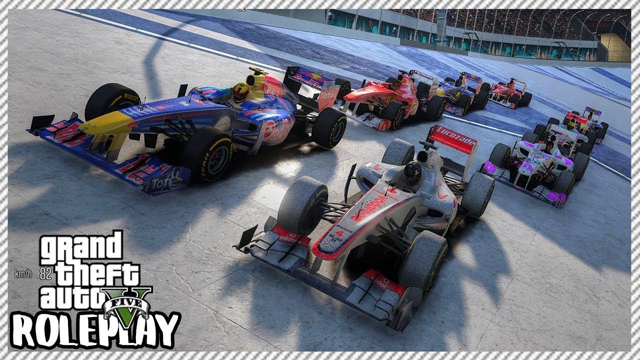 GTA 5 Roleplay - Formula 1 Race Event 'HUGE CRASHES' | RedlineRP #420