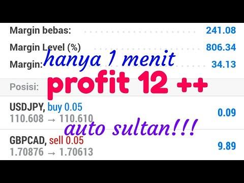 $12  Dalam 1 Menit | Trading Forex, Auto Sultan!