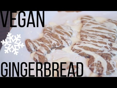 EASY RECIPE: Vegan Gingerbread Cookies