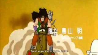 Dragon Ball opening Indonesia