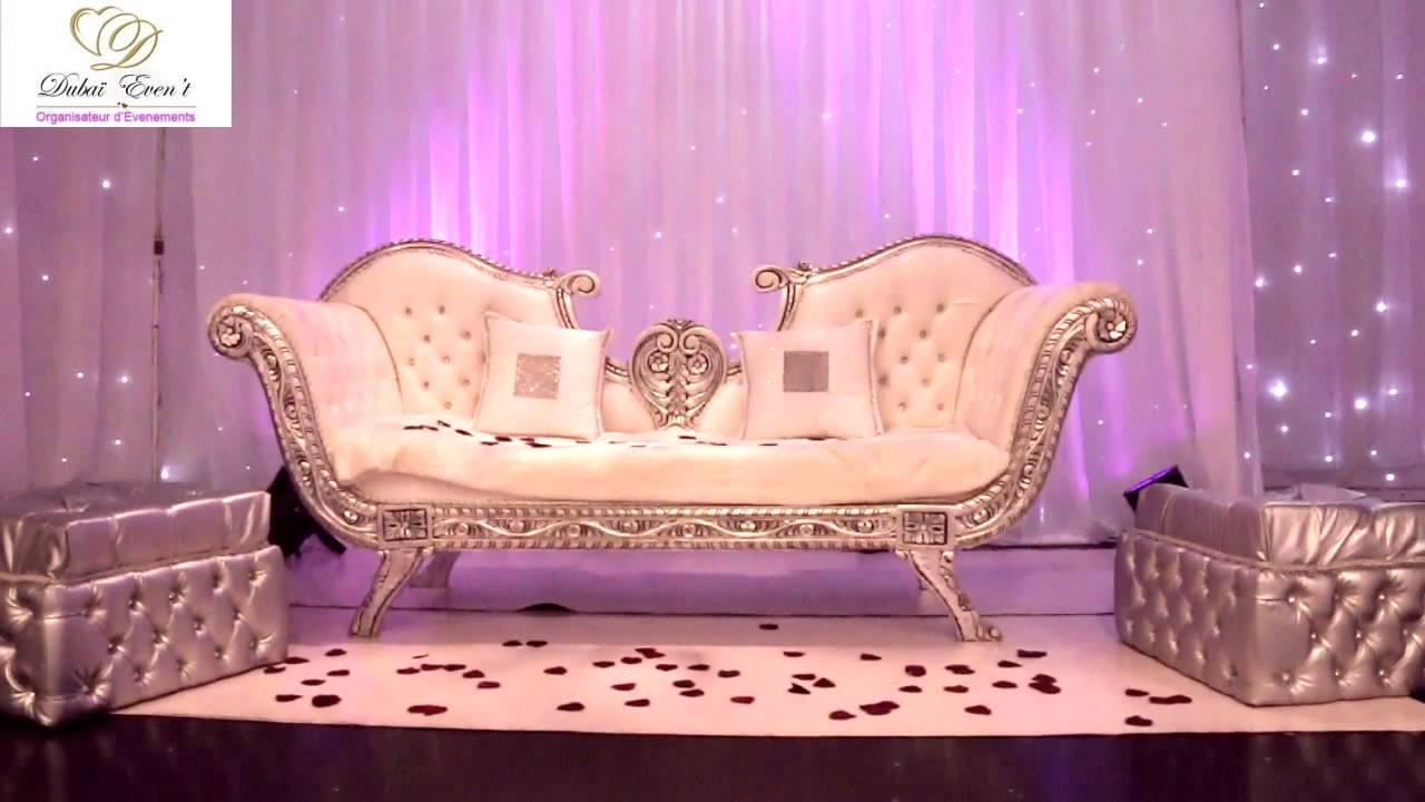 Decoration Trone Mariage