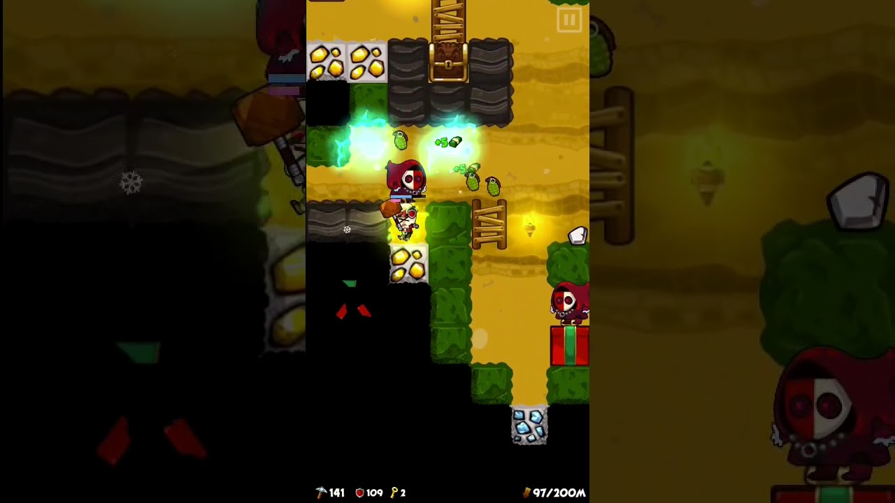 Download Pocket Mine 3 gameplay:Thursday Challenge (14th December,2017) High Score 23,052 points (Top 1%)