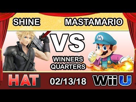 HAT 9 - LH | ShiNE (Cloud) Vs. MastaMario (Mario) Winners Quarters - Smash 4