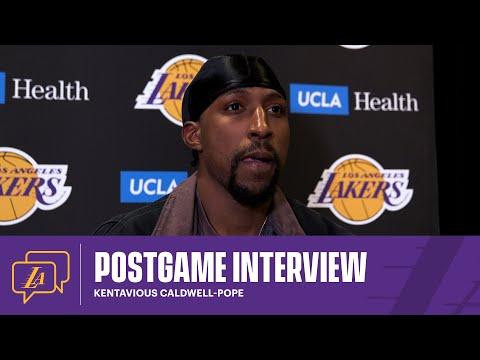 Lakers Postgame: Kentavious Caldwell-Pope (4/12/21)