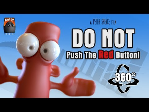 360 Video - DO NOT Push The Red Button! (Rube Goldberg Machine)