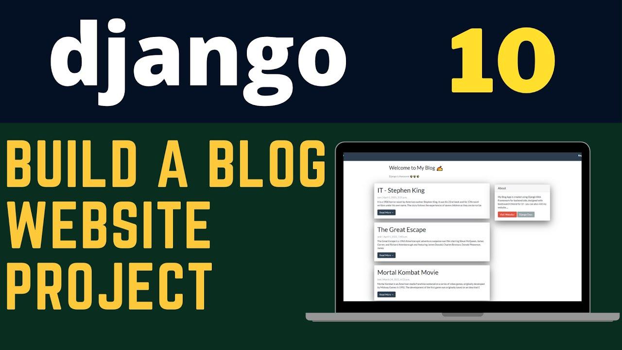 Build Blog Website with Django Web Framework [ Python ]