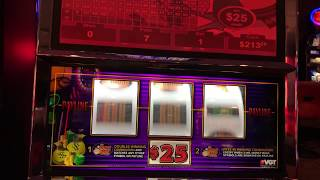 $25 spins Money Bags saves the day!