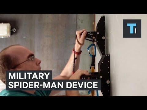 Military Spider-Man device