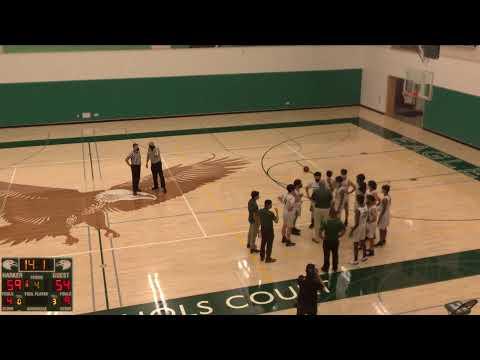 The Harker School vs. Silver Creek Varsity Mens' Basketball