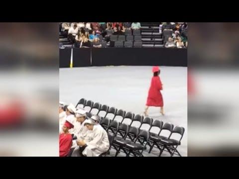 Thumbnail: Teen Defends Walking Out High School Graduation After Facing Backlash