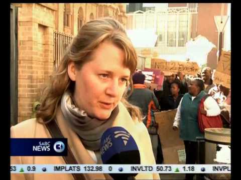Lawyers for Human Rights has sought an urgent court interdict to halt evictions in Alexandra