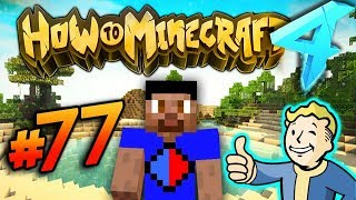 FALLOUT THEMED DUNGEON! - HOW TO MINECRAFT S4 #77