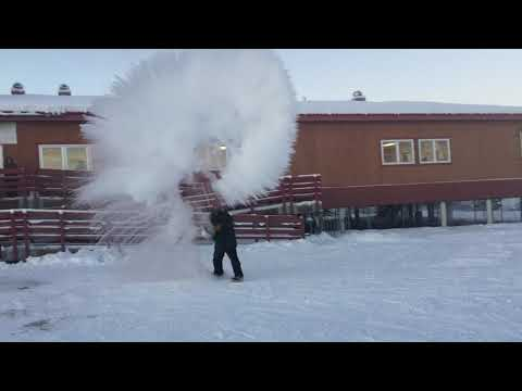 Boiling Water Day at Arctic Village School