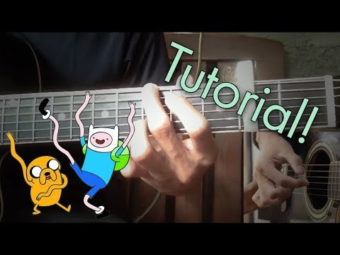 Adventure Time Island Song  Guitar Fingerstyle Tutorial