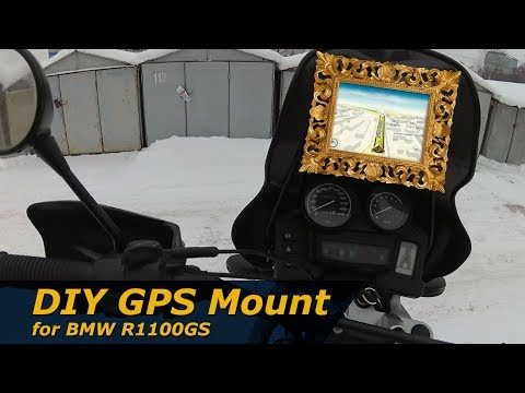 DIY GPS Mount for BMW R1100GS