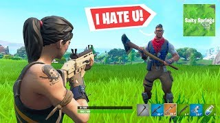 8 minutes 45 seconds of toxic Fortnite kids...