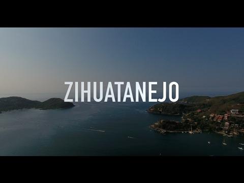 Zihuatanejo Guerrero Mexico in 4K Drone footage