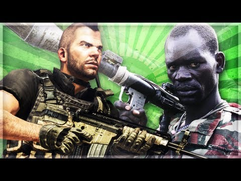 African Drug Lord on Black Ops 2 [BO2]