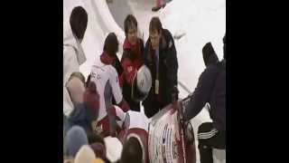 Bobsleigh Crash  (134.7 Kmph)