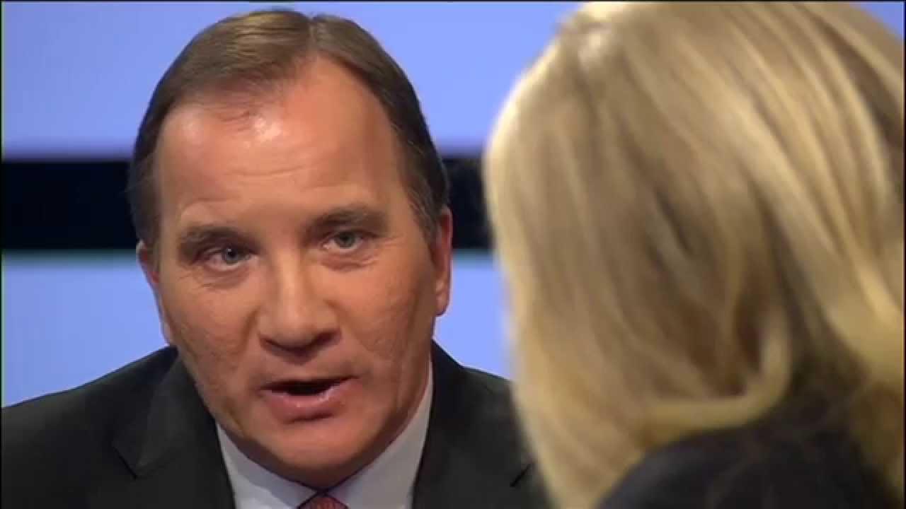 Stefan Löfven: Käbbel i SVT Agenda - YouTube