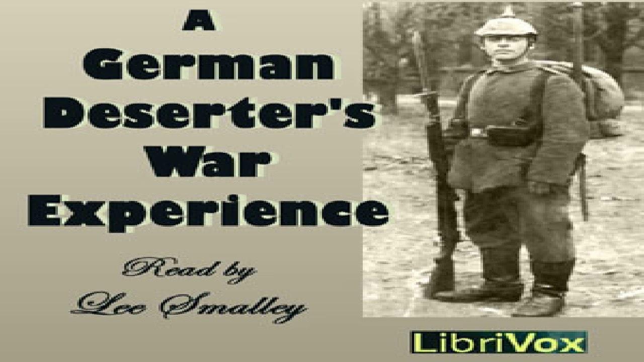 German Deserter's War Experience   Anonymous   War & Military   Book   English   2/3