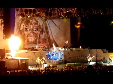 Iron Maiden Setlist July 5 2012 at First Midwest Bank Amphitheatre, Tinley Park, IL, USA