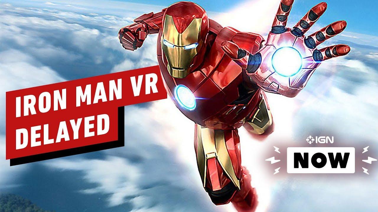 Iron Man VR é o último jogo atrasado de 2020 - IGN Now + vídeo