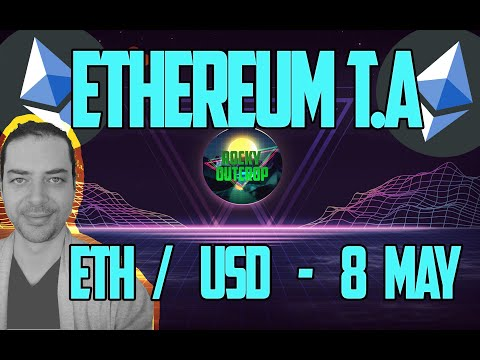 Ethereum (ETH/USD) - Daily T.A With Rocky Outcrop - May 8th - Technical Analysis & Price Predictions