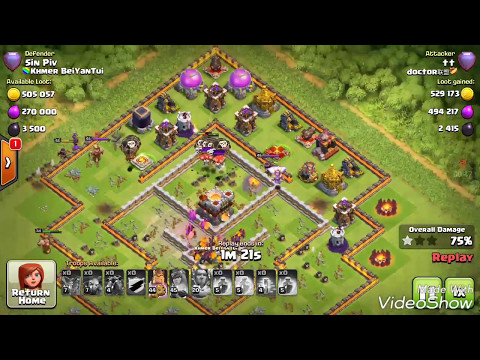 5 Healer 11 Bowler 9 Valkyrie destroy th11 max, coc 3 star th11 strategy incredible attacker