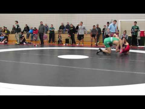 2014 Huskie Open: 57 kg Johnny Vo vs. Dylan Bray