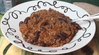 Chili Con Carne Recipe for Students