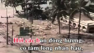 KARAOKE Tân Cổ Nhạc Sóng Thần (Dây Đào)