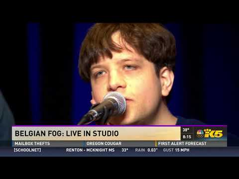 Seattle area band Belgian Fog performs live on KONG