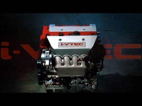 [ENG CC] K20A i-VTEC Engine Introduction 2001