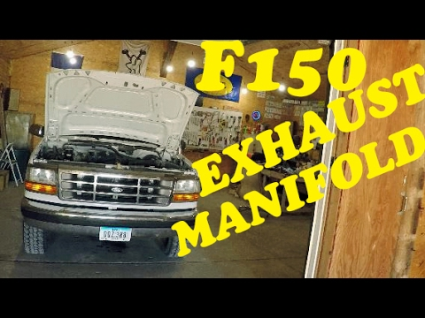 ford f150 exhaust manifold replacement